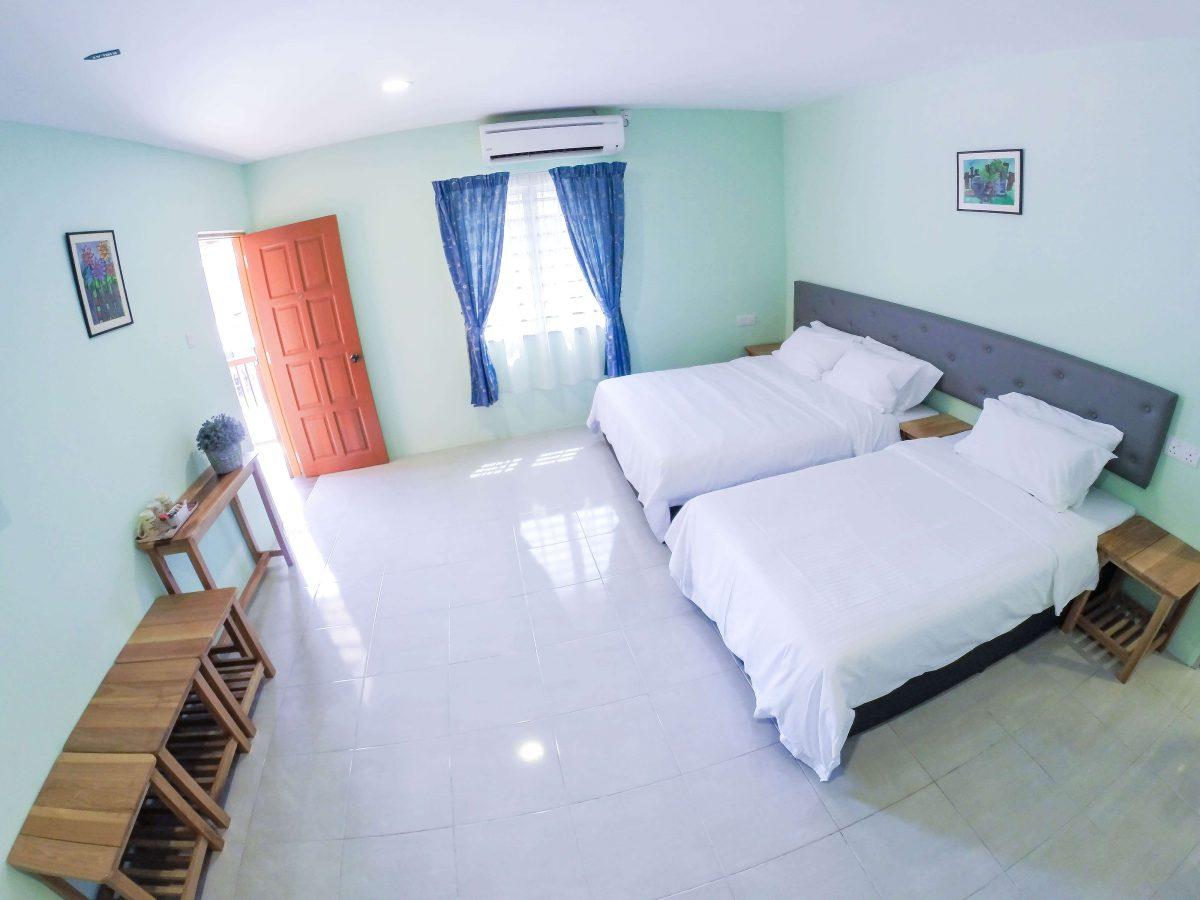 Balcony Suite U2013 1 Double Bed, 1 Super Single Bed (Hotel Standard) ...