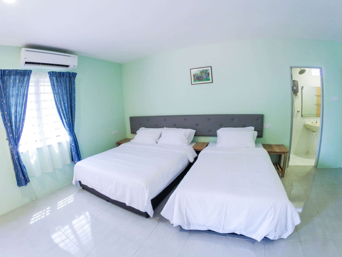 Family Room 1 Double Bed 1 Super Single Angel Resthouse
