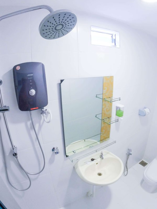 Balcony Suite – Large Attached Toilet – View 1