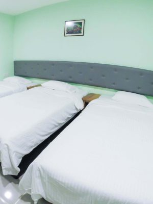 Triple Room - 3 Super Single Bed - View 2
