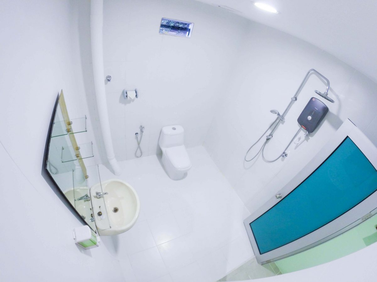 Triple Room – Large Attached Toilet – View 1